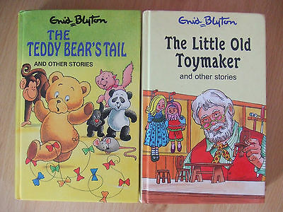 The Teddy Bear's Tail & The Little Old Toymaker & other stories by Enid Blyton