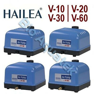 Hailea V Series Silent Air Pump Koi Pond Aquarium Hydroponics V10 V20 V30 V60