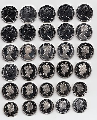 UK PROOF Ten Pence Coins 10p 1971 to 2016 - Choose your Year