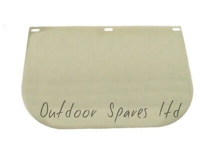 Replacement Clear Visor For Face Shield For Strimmers Brushcutters etc