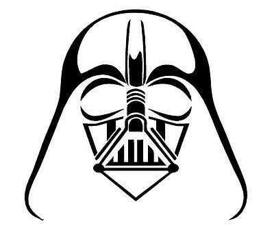 "5"" Darth Vader sticker vinyl decal STAR WARS"