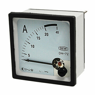 AC 0-20A Current Testing Analog Panel Meter Amperemeter