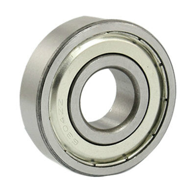 6304ZZ 20 x 52 x 15mm Metal Double Shielded Deep Groove Ball Bearing