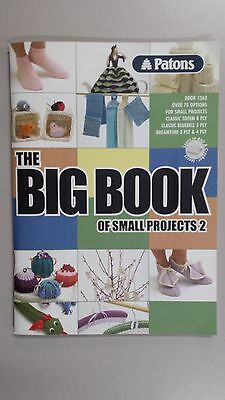 Patons Pattern Book #1268 Big Book of Small Projects No. 2