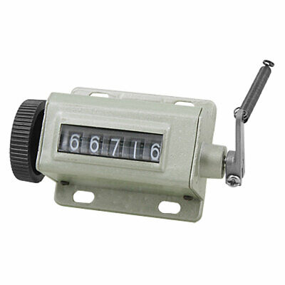 Hand Tally 5 Digit Number Mechanical Clicker Counter