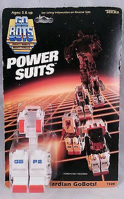 New Vintage  Bandai Tonka Power Suits Armor for Guardian GOBOTS GB P4 7320 MOC