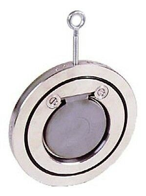 B15-00320 - Stainless Steel Swing Check Valve - Wafer Type - Size 3""