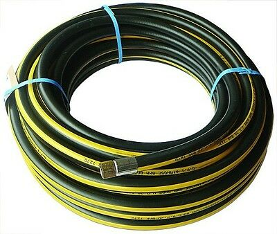 "B11-00928 - Rubber Alloy Air Hose - 15 MTR 6MM I/D HOSE 1/4"" BSP FEMALE"