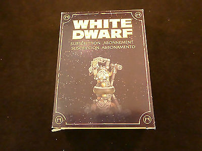 White Dwarf Subscription 2009 - 2010 Grombrindal in Space Metal Boxed Set