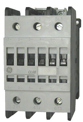 GE CL08A300MJ 3 pole 110 AMP contactor with a 120 volt AC coil