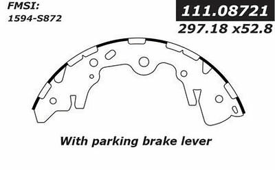 Centric Parts 110.08721 Rear New Brake Shoes
