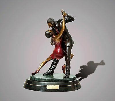 "BRONZE ""Tango Dancers"" SCULPTURE by BARRY STEIN LIMITED EDITION!"