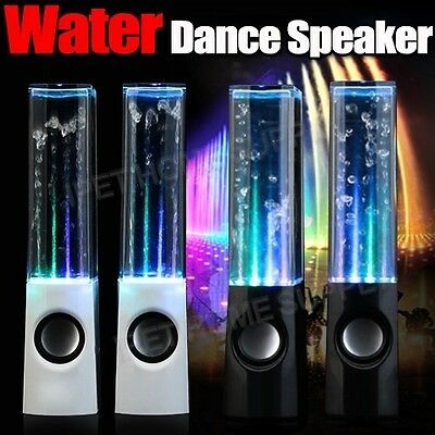 Water Dancing Speakers Audio Speakers USB LED DANCE Fountain for iPod IPHONE PC