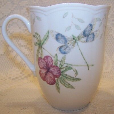 Lenox Dragonfly Coffee Cup Mug Excellent