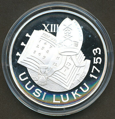 "Liberty to Sail Chydenius Finland /""Silver Treasure Collection/"" Coin Proof"