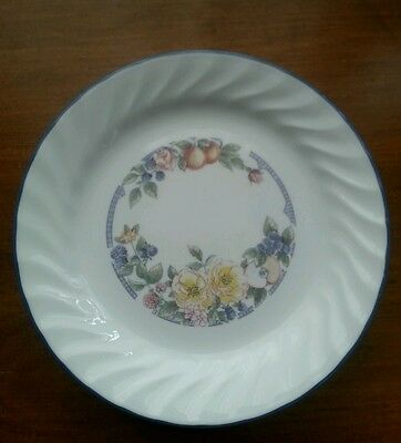 7 Corelle Orchard Rose Salad Bread & Butter Plates - set of 7