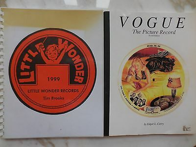 Little Wonder Records -Tim Brooks  Vouge The Picture Record -Edgar L.Curry Books