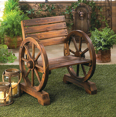 Outdoor Country Wagon Wheel Chair