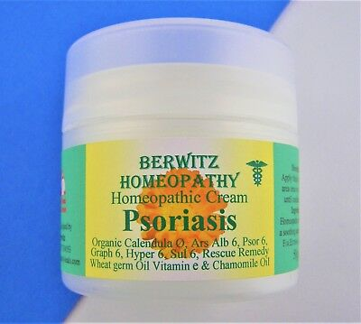 Psoriasis Homeopathy Cream For Dry & Scaly Skin, Soothes Redness & Irritation