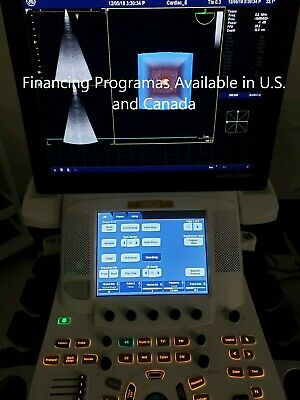Ge Vivid E9 XDClear Ultrasound with M5S-D