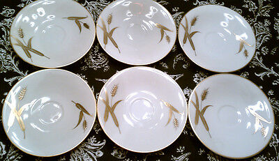 Set of 16 Vintage Meito Norleans Midas SAUCERS Japan