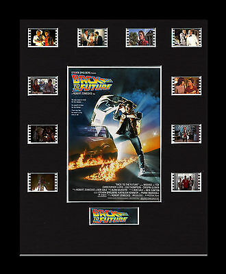 Back to the Future- Framed 35mm Mounted Film Cells -10 Cell Display filmcell