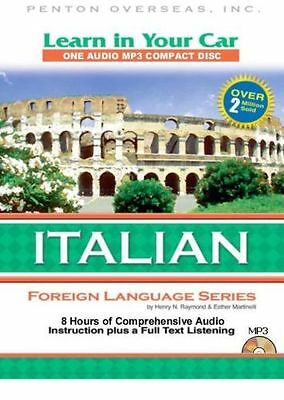 Learn ITALIAN in Your Car - 104 lessons on CD - MP3
