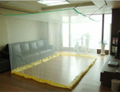 Portable Insect Mosquito Fly Bug Net Netting Screen Bed Canopy EXtra Large White