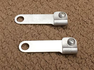 2 Whizzer Throttle And Decompression Cable Brackets
