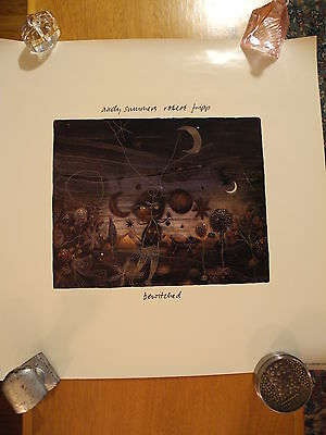 """ANDY SUMMERS & ROBERT FRIPP - """"Bewitched"""" 1984 POSTER PROMO ONLY  NM"""