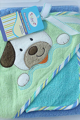 New 100% cotton 350GSM Baby Kid Bath Towel Hooded Towel Embroidered Pattern 2