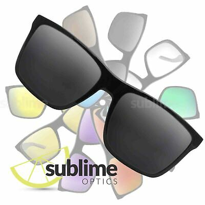 POLARIZED Black (Dark Grey) Replacement Lenses for Arnette Witch Doctor  ~ smoke