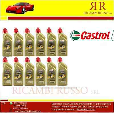 Olio Castrol (Tts)Power Racing 2T 100% Sintetico 12L
