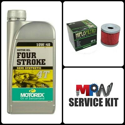 K157FMI Oil and Filter Service Kit for Pulse Adrenaline 125 XF125GY-2B