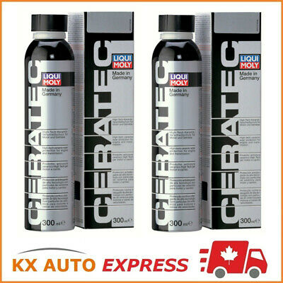 2x Liqui Moly Ceratec Oil Additive Treatment Ceramic Wear Protection 300ml