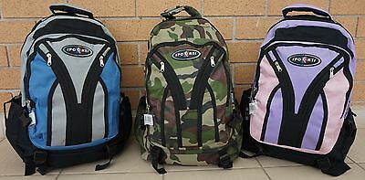 """Outdoor Daypack school bag camping hiking sports gym backpack laptop 17"""" 24L"""