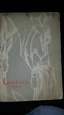 RARE 1929 LENTHERIC( OF PARIS) PERFUME CATALOGUE