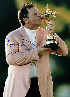 Ian WOOSNAM Signed Autograph 16x12 Ryder Cup Team EUROPE GOLF Photo AFTAL COA