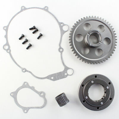Yamaha Raptor 660R Heavy Duty Starter Clutch One-Way Bearing Gear Kit 2001-2003