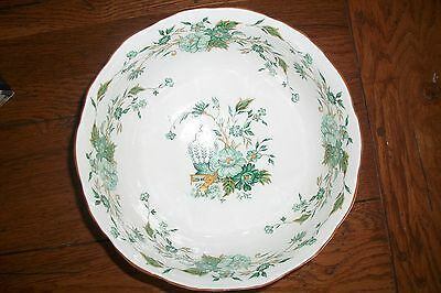 Beautiful Crown Staffordshire Kowloon Large Round Fruit or Serving Bowl