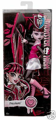 Monster High Original Favorites DRACULARA Doll Ghouls Collection NEW