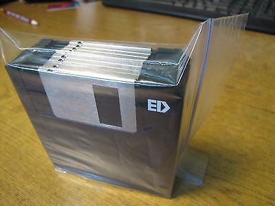 """10 ea. 3.5"""" DS/ED Extra High Density 2.88MB Floppy Disk  New Unused"""