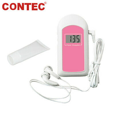 US seller Prenatal Fetal Doppler 3MHz Probe,Baby Heart Monitor,Backlight LCD,Gel