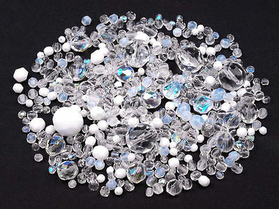 50 Grams Czech Fire Polished  Beads Mix 5 Colours to Choose Jewellery Making
