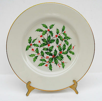 LENOX Special Edition HOLIDAY PRESIDENTIAL Dinner Plate Large Decal 10 3/8""