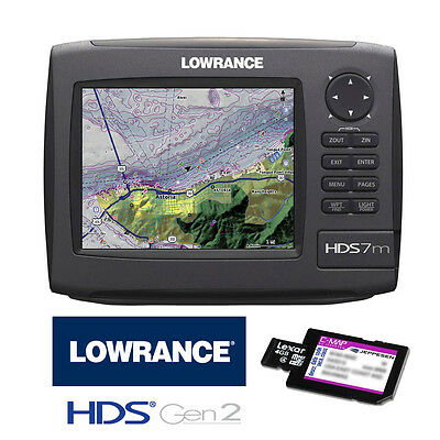 Lowrance HDS7m Gen2 GPS Chartplotter with C-Map MAX-N