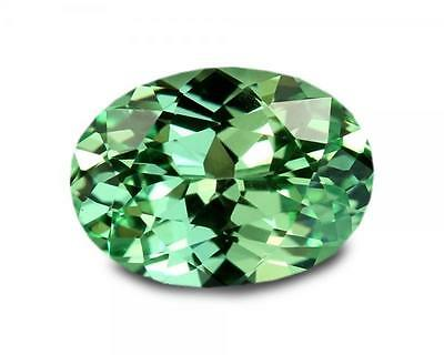 1.08 Carats Natural Merelani Mint Garnet Gemstone - Oval