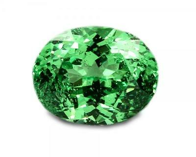1.27 Carats Natural Merelani Mint Garnet Gemstone - Oval