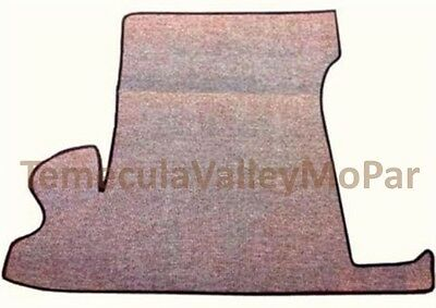 Trunk Mat for 1949-1952 Plymouth