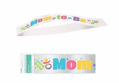 Satin Sash Mom To Be Sash Gifts & Favours Baby Shower Party Supplies